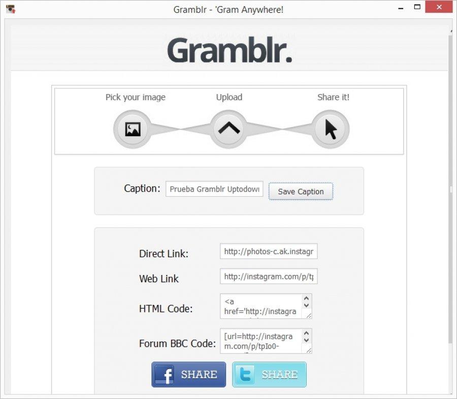 Gramblr download