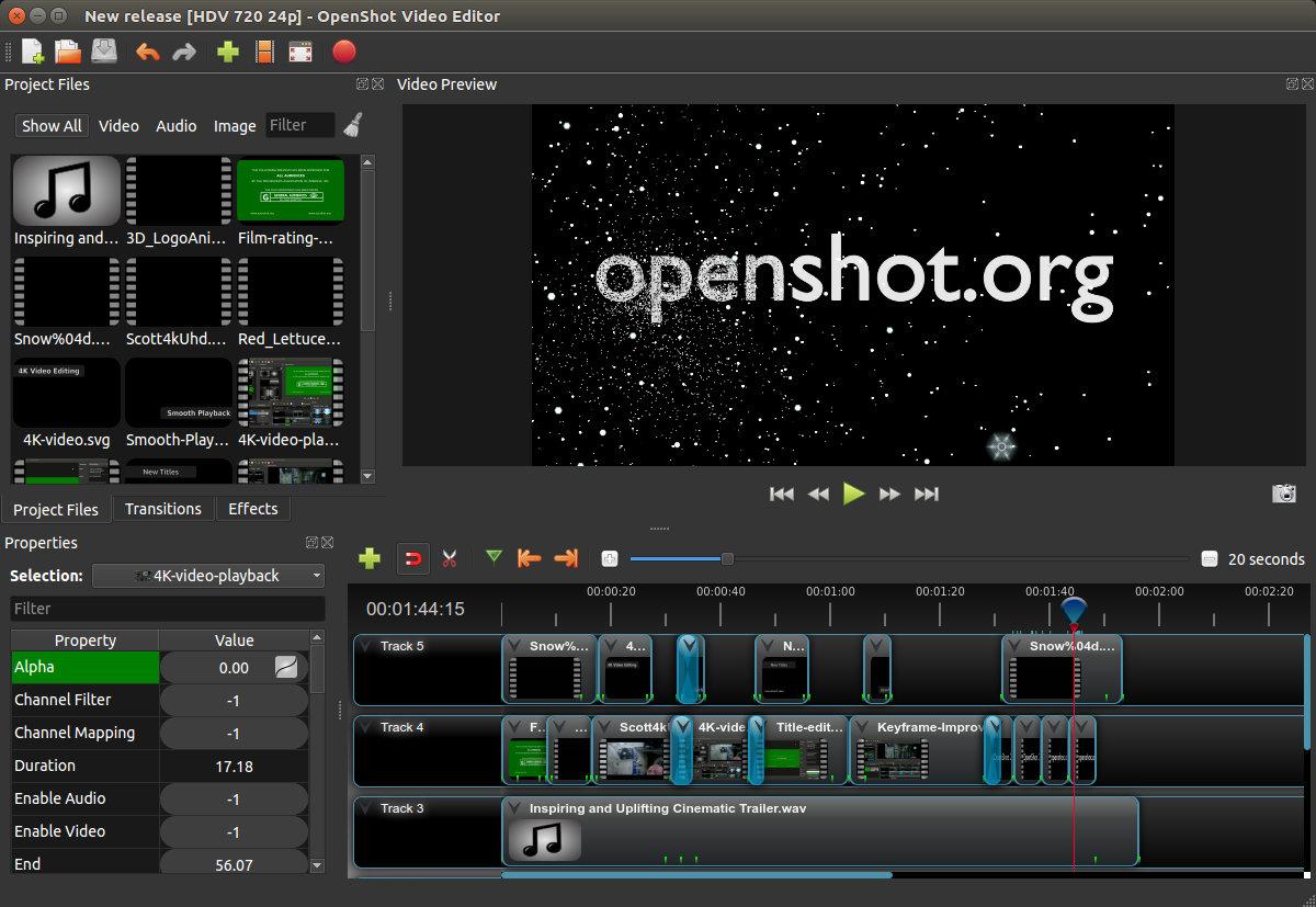 Openshot-download